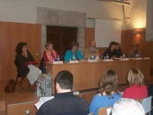 9-1-2_SCT02 2002_02_ taula rodona (Iolanda Ledesma - Teresa M Castanyer - M Alba Agulló - Oriol Camps - )