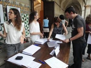 9-1-4_SCT04 2014_01-taula d-inscripció (Francina Payeras - Núria Roma - Laia Campamà)