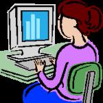 dona i ordinador